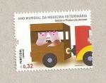Sellos de Europa - Portugal -  Año mundial de la medicina veterinaria