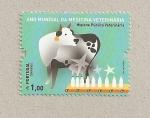 Stamps Portugal -  Año mundial de la medicina veterinaria