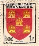 Sellos del Mundo : Europa : Francia : Poitou
