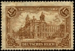 Stamps Europe - Germany -  República de Weimar, hotel reichspostamt-in-berlin
