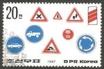 Stamps North Korea -  Señales de circulación