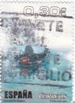 Stamps Spain -  buceo entre icebergs
