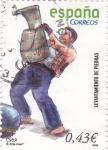 Stamps Spain -  levantamiento de piedra