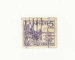 Stamps : Europe : Spain :  Auxilio victimas de la guerra 1946