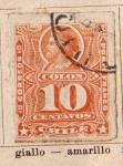 Stamps America - Chile -  Colon Ed 1880