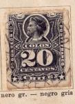 Sellos de America - Chile -  Colon Ed 1880
