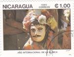 Sellos de America - Nicaragua -  año internacional de la música