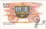 Stamps Asia - Oman -  Royal Wedding- carroza real