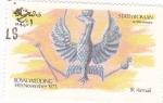 Stamps Oman -  Royal Wedding- escudo