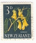 Stamps New Zealand -  kowhai