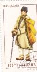 Stamps Romania -  trajes regionales