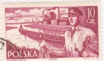 Stamps Poland -  marinos