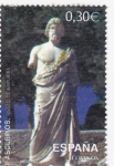 Stamps Spain -  museo de ampurias-Asclepios