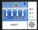Stamps Europe - Jersey -   Tema Europa