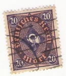 Stamps : Europe : Germany :  morf