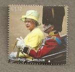 Stamps United Kingdom -  Ceremonia del color