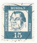 Stamps : Europe : Germany :  deutsche bundes 15 sello francobolli