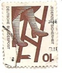 Stamps Germany -  caida