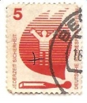 Stamps Germany -  Llama