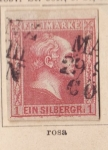 Sellos del Mundo : Europa : Alemania : Reino Prusia Ed 1857 Rey John