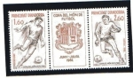 Stamps : Europe : Andorra :  Mundial España - 82