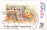 Sellos de Europa - España -  el sello compañero inseparable