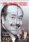 Sellos de Europa - España -  cine español-jose luis lopez vazquez
