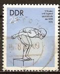 Sellos de Europa - Alemania -  V. Spartakiade de niños y jóvenes de la DDR 1975.