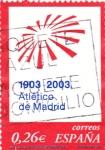 Sellos de Europa - España -  centenario del club atletico de madrid 1903-2003