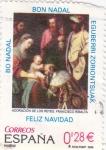Sellos de Europa - España -  adoraciónj de los reyes magos