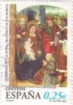 Stamps Spain -  adoración de los reyes magos Calzadilla de los barrios