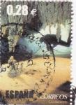 Stamps Spain -  Espeleobuceo