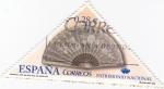 Stamps Spain -  Patrimonio nacional-abanico s. XIX Palacio Real de Aranjuez