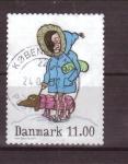 Stamps Denmark -  serie- Personajes de comic