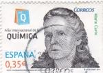 Stamps Spain -  Año internacional de la química-Marie Curie