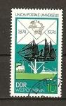 Sellos de Europa - Alemania -  Centenario de la U.P.U. / DDR