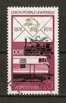 Sellos de Europa - Alemania -  Centenario de la U.P.U. / DDR.