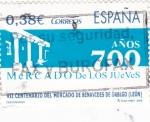 Stamps Spain -  VII centenario del mercado de Benavides de Obrigo (león)