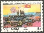 Stamps : Asia : Vietnam :  498 - 30 anivº de la batalla de Dien Bien Phu