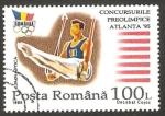Sellos del Mundo : Europa : Rumania : 4301 B - Preolimpiada para los Juegos de Atlanta