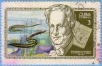 Stamps Cuba -  Bicentenario del nacimiento de A. de Humboldt