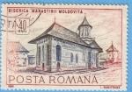 Stamps : Europe : Romania :  Biserica Manastirii Moldovita