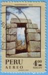 Stamps : America : Peru :  Sacsayhuaman - Cuzco