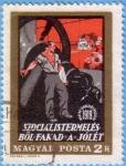 Stamps : Europe : Hungary :  Szocialistermeles Bol Faka a Jolet