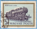 Sellos de Europa - Hungría -  100 Éves a Máv