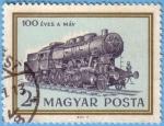 Stamps : Europe : Hungary :  100 Éves a Máv