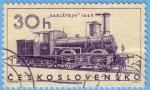 Stamps : Europe : Czechoslovakia :  Karlstejn 1865