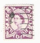 Stamps : Europe : United_Kingdom :  uk 6d