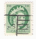 Stamps : America : Canada :  canadá 2c