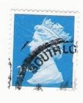 Sellos del Mundo : Europa : Reino_Unido : Queen Elizabeth stamp 2nd